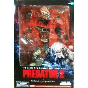 Predator 2 Snap Fit 1/6 Scale Pre painted Soft Vinyl Kit