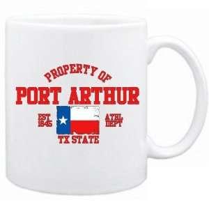 New  Property Of Port Arthur / Athl Dept  Texas Mug Usa