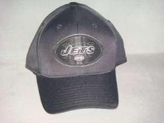 NEW YORK JETS NFL REEBOK HAT CAP FADEOUT BLACK