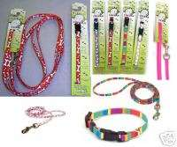 Pet Supplies PUPPY TOY BREED XS Dog Collar & Leash SET