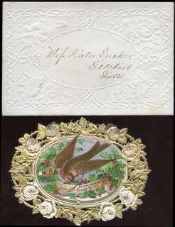 FEB 14 ELKHART, IND; EARLY VALENTINE FANCY CARD BM7582