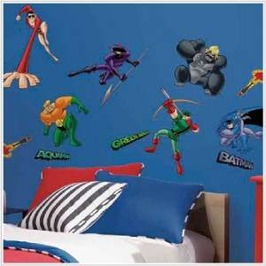 ~Peel & Stick Wall Decals, Border & Giant 6 ft x 10.5 ft Mural