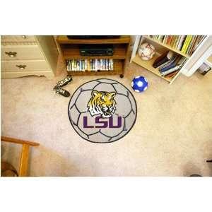 Louisiana State Fightin Tigers NCAA Soccer Ball Round