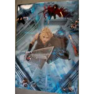 Final Fantasy VII Cloud Glossy Laminated Poster #4754