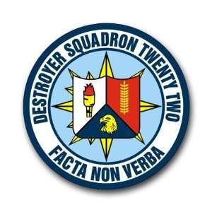 US Navy Destroyer Squadron 22 Decal Sticker 5.5