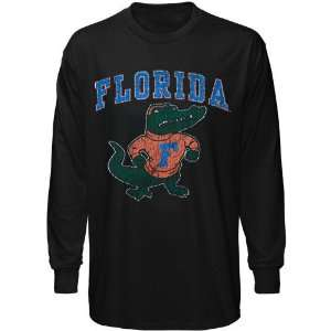 Florida Gator Tee  Florida Gators Black Big Arch N Logo Long Sleeve