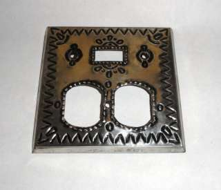 Tin Plate Outlet Switch Cover Mexican Home Decor Mexico Folk Art