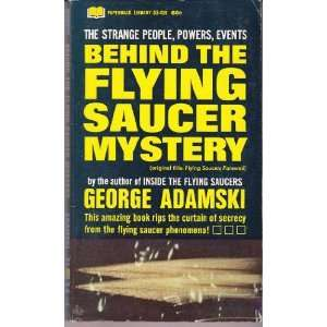 Behind the Flying Saucer Mystery (Original Title: Flying Saucers