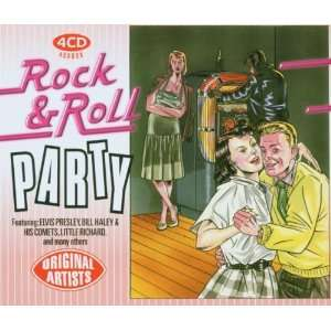 Rock & Roll Party (4 CD Box feat. Elvis Presley, Bill