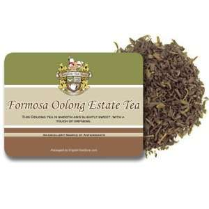 Formosa Oolong Estate Tea   Loose Leaf   4oz:  Grocery