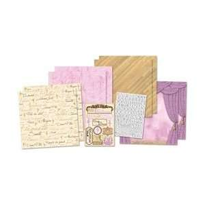 Karen Foster Ballerina Page Kit 12X12 Arts, Crafts