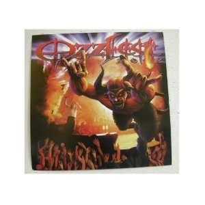 Ozzy Osbourne Poster Flat Ozzfest Black Sabbath
