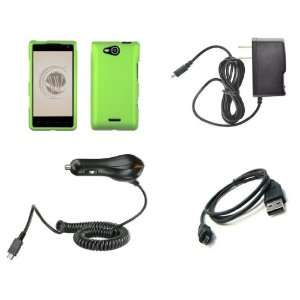 LG Lucid 4G (Verizon) Premium Combo Pack   Neon Green