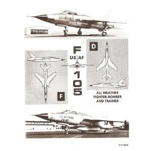 Republic F 105 D Aircraft Flight Manual: Sicuro Publishing