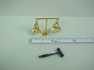 Scales Justice/Judges Gavel #B3046/386  Dollhouse Mini