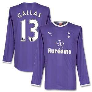 11 12 Tottenham Away L/S Jersey + Gallas 13: Sports & Outdoors