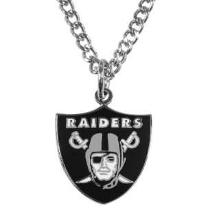 Oakland Raiders   Logo Necklace: Jewelry
