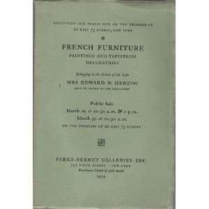 [Parke Bernet, March 29/30, 1939] Parke Bernet Galleries Books