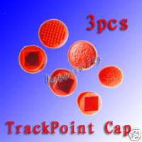 3x IBM Thinkpad Laptop Mouse Pointer TrackPoint Red Cap