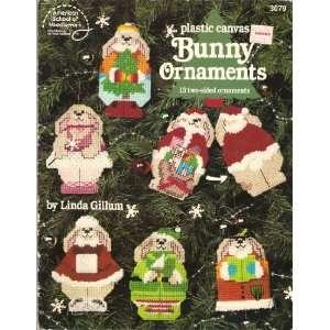 Plastic Canvas Bunny Ornaments: Linda Gillum: Books
