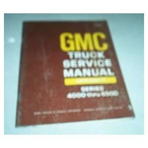 com 1968 68 GMC Truck Service Shop Repair Manual 4000 6500 gm Books