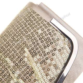Champagne Silver Wedding Evening Cocktail Party Clutch Bag NBG 71432