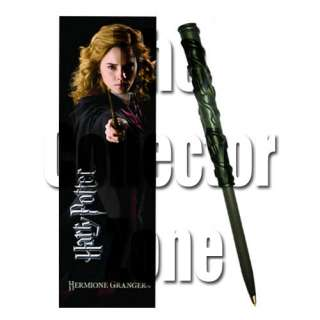 Harry Potter Hermione Granger Wand Pen and Bookmark Gift Set