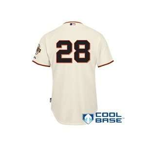 San Francisco Giants Authentic Buster Posey Home Cool Base Jersey w