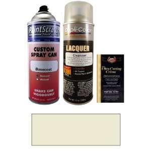 Oz. Fine Silver Metallic Spray Can Paint Kit for 2007 Kia Rondo (7S