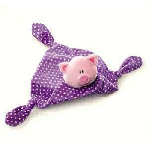 Plush Russ Kids Bright Beginnings Pig Blanket 16.5 Toys