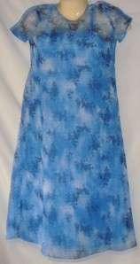 Girls Blue Dress Size 10