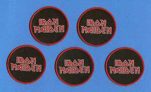 Lot Iron Maiden Rock Patches Music Crests