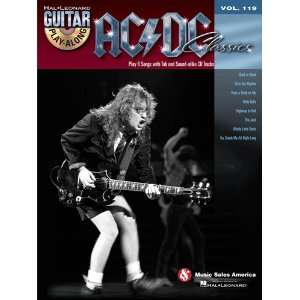 AC/DC Classics   Guitar Play Along Volume 119   Book and
