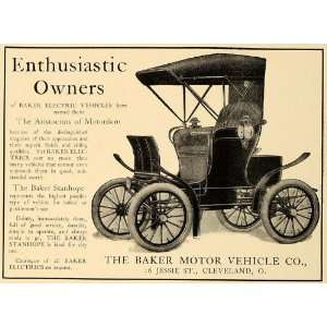 Electric Vehicles Stanhope Model   Original Print Ad