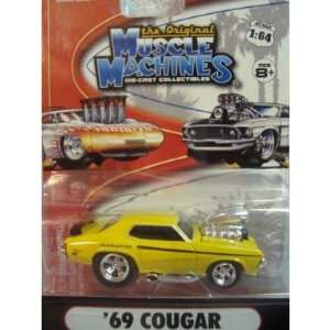 Muscle Machines Detailed Diecast 1969 Mercury Cougar