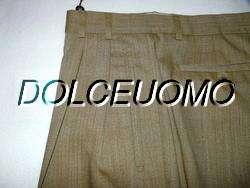 NEW $325 men HICKEY FREEMAN 35 W DRESS PANTS GoldenWheat Mid Weight