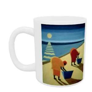 Beach Bums, 1997 (oil on canvas) by Tilly Willis   Mug   Standard Size