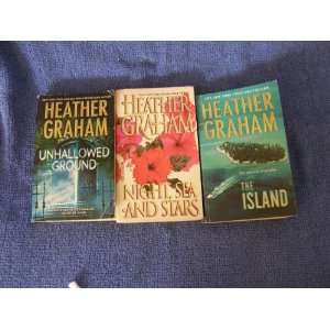 3 Book Set By Heather Graham (The Island, Night Sea and
