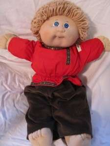 Vintage 80s Cabbage Patch Kids world traveler boy Russia