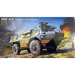 HELLER   1/35 VAB 4x4 Troop Transport Vehicle (Plastic Models