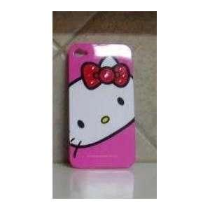 HELLO KITTY IPHONE 4G CASE PINK SWAROVSKI CRYSTAL BLING