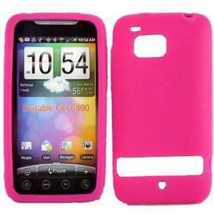 ADR6400 HOT PINK SOLID SILICONE RUBBER TOUCH GEL SKIN