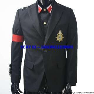 MICHAEL JACKSON BLACK MILITARY AWARDS JACKET   Pro Series