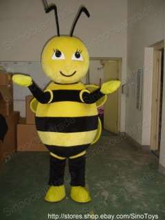 Bee Honeybee Bumblebee Mascot Costume Fancy Dress EPE