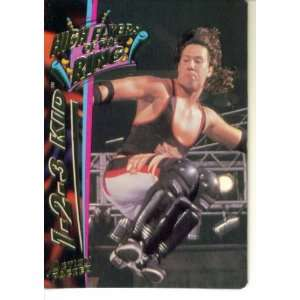 Card #37  The 1 2 3 Kid (High Flyers of the Ring) Sports & Outdoors
