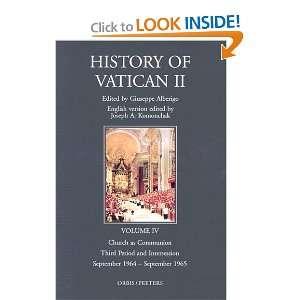 The History of Vatican II, Vol. 4: Church as Communion