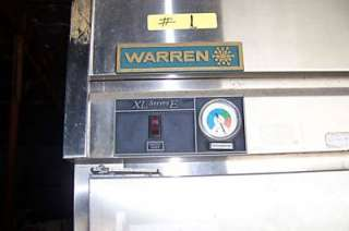 WARREN XL SERIES 3 DOOR REFRIGERATOR MODEL# ACA 74 TE