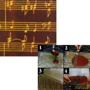 Pfeil & Holing Chocolate Transfer Sheet   Musical Score