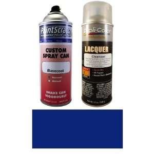 12.5 Oz. Dark Blue Metallic Spray Can Paint Kit for 1986 Honda Accord