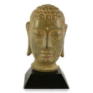 Brass sculpture, Buddha from Gandhara